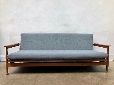 Vintage Retro Guy Rogers Manhattan Teak Sofa Bed Mid Century Danish. DELIVERY