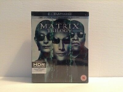 The Matrix Trilogy [4K  Ultra HD + Blu-ray] *NEW*