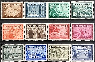 Germany Third Reich 1939 Postal Employees' & Hitler's Culture Fund MNH