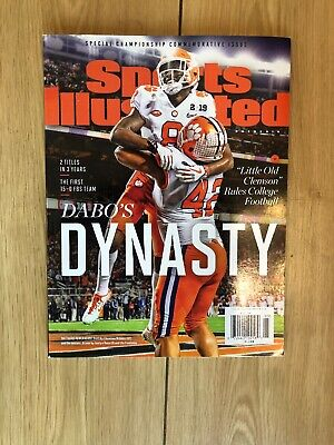 Sports Illustrated 2019 Clemson Tigers Special Championship Commemorative Issue
