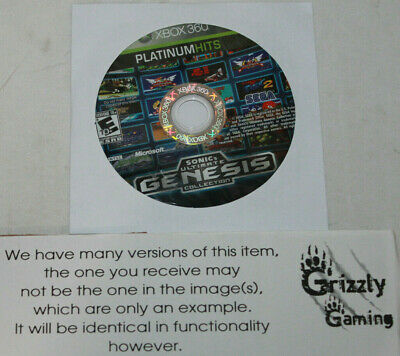 USED Sonic's Ultimate Genesis Collection Microsoft XBOX 360 (Disc Only)