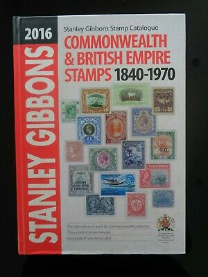Stanley Gibbons 2016 Commonwealth & British Empire Stamp Catalogue 1849-1970