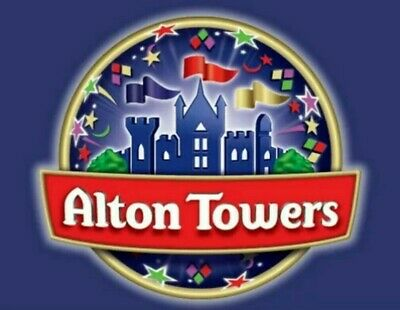 ALTON TOWERS TICKETS X2 FOR MONDAY 17th JUNE 2019.