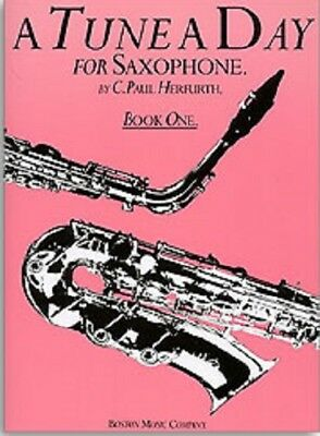 A TUNE A DAY for SAXOPHONE  Book 1  Beginner Music Tutor Book