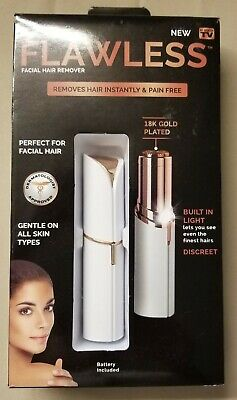 Finishing Touch Flawless Women's Painless Hair Remover, White