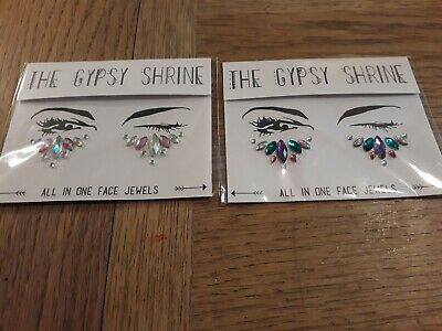 The Gypsy Shrine Festival All In One Face Jewels Sealed (2 pack)
