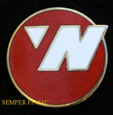 """Northwest Air Airlines Logo Hat Lapel Pin Airplane Pilot Crew Wing Gift """"N"""""""
