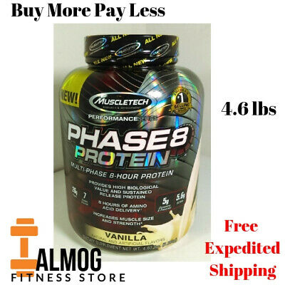 MuscleTech Phase8 Protein Powder, Sustained Release 8-Hour Protein Vanilla SELL