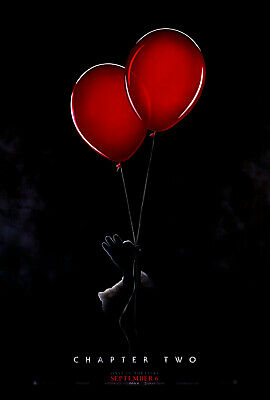 """Original 2019 """"IT"""" Chapter Two 2 - Stephen King Horror Movie Poster 27x40 DS"""