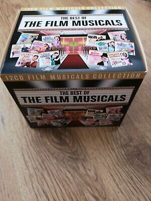 12 CD Film Musical Collection Box Set - Inc: Calamity Jane, A Star Is Born