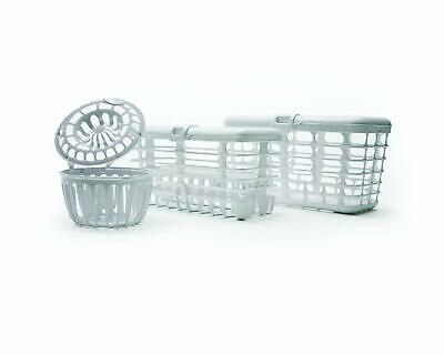 Prince Lionheart 3-Piece Dishwasher Basket System for Baby Bottles Pacifiers ETC