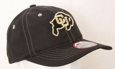 online store 66e6e 15e3b NEW University of Colorado Buffaloes Black Zephyr Metallic Adjustable  Womens Hat