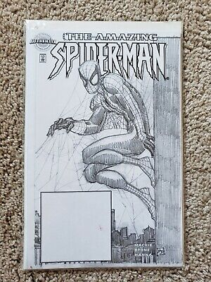Amazing Spider-Man Vol.2 #1 Dynamic Forces Authentix Sketch Variant Romita Jr