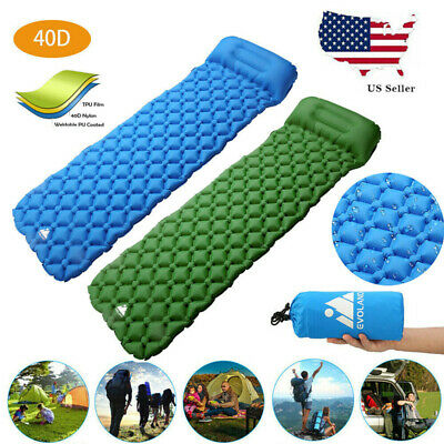 Inflatable Outdoor Travel Mattress- Camping Airbed