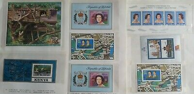 Lot of British Commonwealth QE II Silver Jubilee(1952-77) Issue MNH--