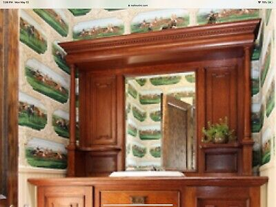 Top of Antique Mission/Arts and Crafts Style Sideboard