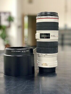 Canon EF 70–200mm f/4L IS Camera Lens