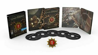Game of Thrones Season 2 - Steelbook Blu-Ray + Digital With Collectable Magnet