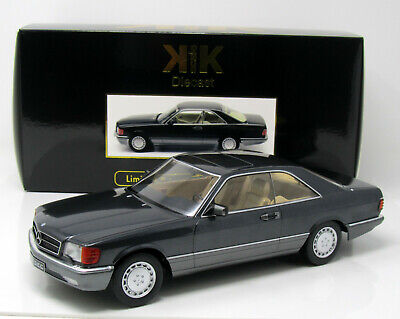 Modell  1:18 Mercedes -Benz 560 SEC (C126) metallic anthrazit  KK Scale 180331