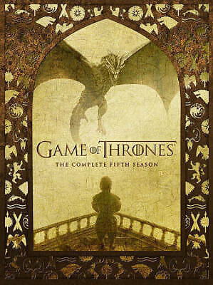 game of thrones seasons 5, 6, 7 DVD 14 discs 28 episods 3 separate 5 discs sets