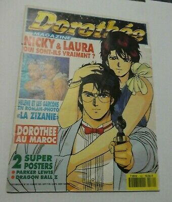 Magazine Club Dorothee Revue Numero N° 182 City Hunter Complet Rare 1993 **