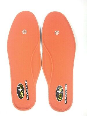 5181a32bf3 Extremely Comfortable Memory Foam Insoles Cactus Brand Men Sizes 6 to 12 New