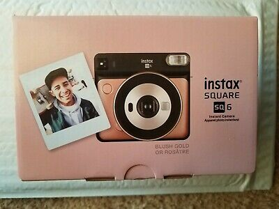 FUJIFILM Instax Square  SQ 6 Instant Camera Blush Gold CPL11B700