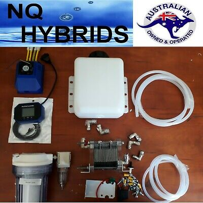 Hho Diy 21 Plate Complete Set  Gas Filter & Dryer + 70A Ccpwm + Level Indicator