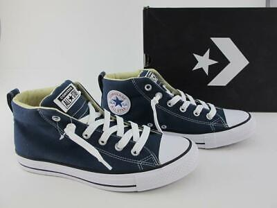 Converse Chuck Taylor All Stars NEW CT Street Canvas Mens 8 Mid Shoes 149547F