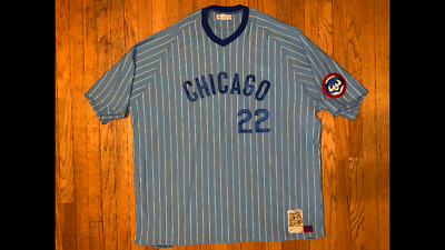 f2a3efad1 Mitchell and Ness Chicago cubs Bill Buckner Cooperstown authentic  collection 5X