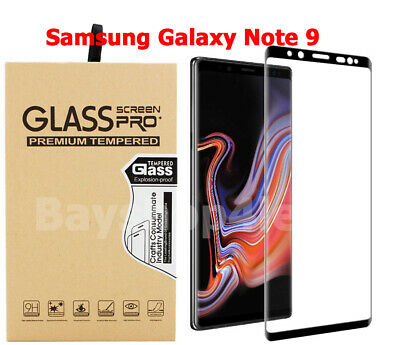 2 Pack - Samsung Galaxy Note 9 HD Tempered Glass Screen Protector Full Cover!