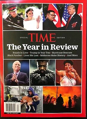 TIME MAGAZINE SPECIAL 2018 THE YEAR IN REVIEW economist trump Aretha franklin