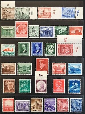 Germany Third Reich 1940-1941 issues Mostly MNH