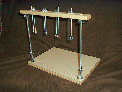 Deluxe Book Sewing frame for bookbinding on keys and tapes binding keys ....3172