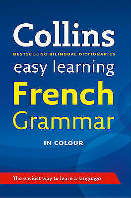 NEW COLLINS Easy Learning French Grammar in colour paperback book FREE POSTAGE