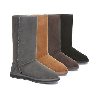 UGG Boots Tall Australian Double Faced Sheepskin Classic Unisex Premium NonSlip
