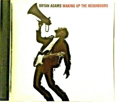 Bryan Adams Waking Up The Neighbours Original Gold A&M Cd Like New  1991