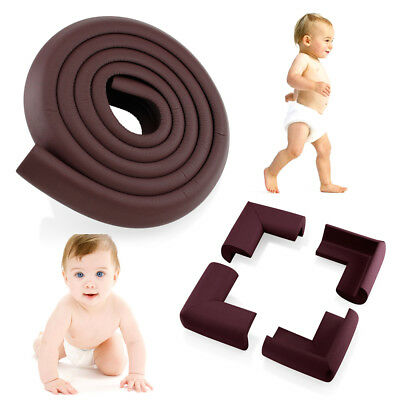 Table Desk Edge Corner Cushion Guard Strip Softener Bumper Protector Baby Safety