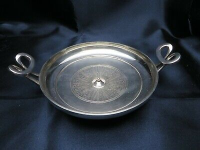 Metropolitan Museum of ART Silver Plated GREEK Cast KYLIX BOWL by Gorham