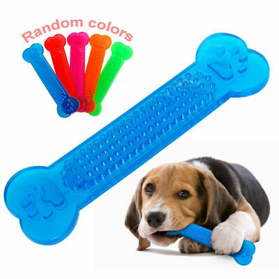 Dog Toothbrush Brushing Bone Teeth Cleaning Chew Toy For Dogs Pet Oralcare