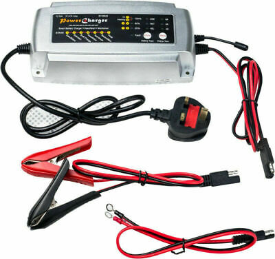 Chargeur de Batterie/Mainteneur  2/4 / 8A  12V Intelligent Voiture Moto AGM GEL