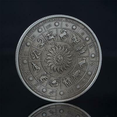 New Cheap Commemorative Coin 12-Constellations Souvenirs-Craft Gifts Collection