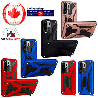 Huawei P30 Pro Shockproof Heavy Duty Armour Builder Kickstand Hard Case Cover