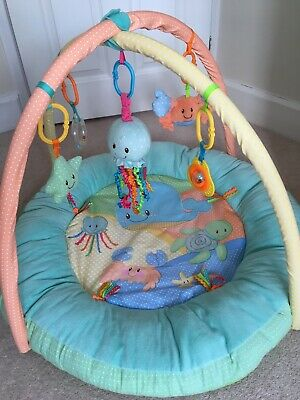 Mothercare Baby Ocean Play Gym Mat And Arch