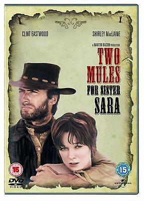 TWO MULES FOR SISTER SARA (1970) Clint Eastwood DVD Region 4 (AUS) New & Sealed
