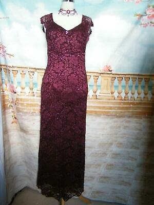 NEW Phase Eight Ballgown/Dress size 12 Stretch Lace/Sequin Evening Cocktail Prom