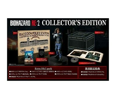 Resident Evil 2 RE2 Biohazard Collector's Edition PS4 Japan