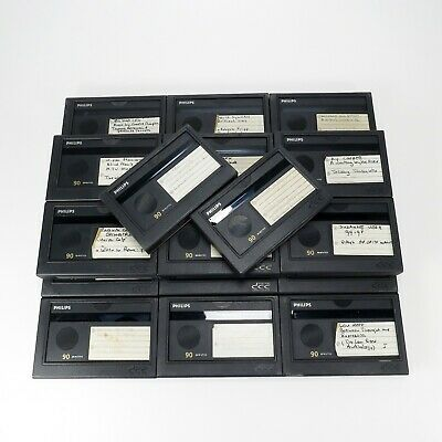 Lot of 20 Used Philips DCC Digital Compact Cassettes of 90 Minutes (DCC#5)