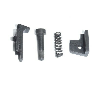 Lee Enfield No4 Release Set - 4 Pieces: Catch, Screw, Spring, Stop Plate