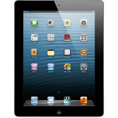 Apple iPad 4th Gen. 16GB (Black), Wi-Fi + Cellular (Verizon), 9.7in